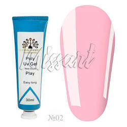 Полигель Global Fashion Poly UV Gel №02 30 мл