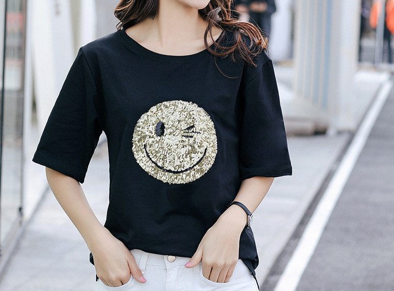Женская футболка  AL-8240-10