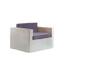 Кресло плетенное садовое