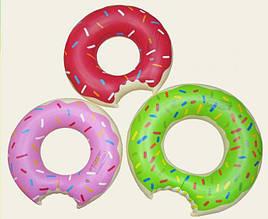 Дитячий надувний круг Пончик 70 см