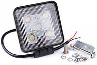 Фара дневного света 128x110x41 мм, LED 5x3 Вт, 1 шт.