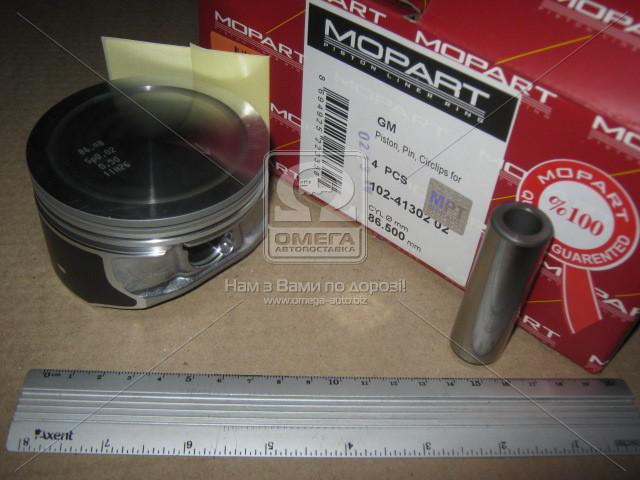 Поршень OPEL 86.50 2.2i 16V Z22SE (Mopart) 102-41302 02