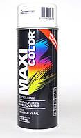 Белая матовая краска RAL 9010 matt MAXI COLOR в аэрозоле