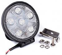 Фара дневного света 128x110x43 мм, LED 6x3 Вт, 1 шт.