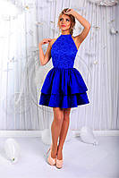 Платье в стиле Бэби-долл с двойной юбкой