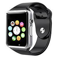 Наручные смарт часы Smart Watch A1 ( часы телефон )