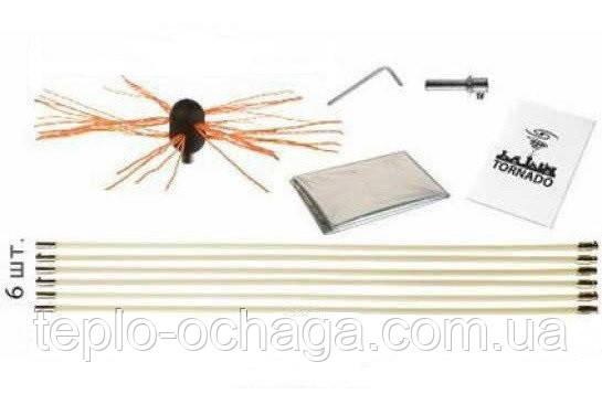 Роторный набор для чистки дымохода HANSA TORNADO