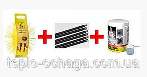 Набор для чистки дымохода (щетка+ручки 6 шт+ очиститель)