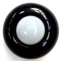 Датчик движения потолочный 360 градусов чёрный RIGHT HAUSEN
