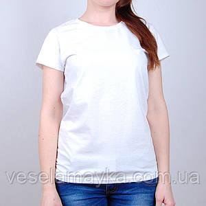Белая женская футболка (Премиум)