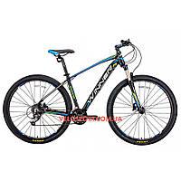 Горный велосипед Winner Gladiator 29 дюймов черно-синий