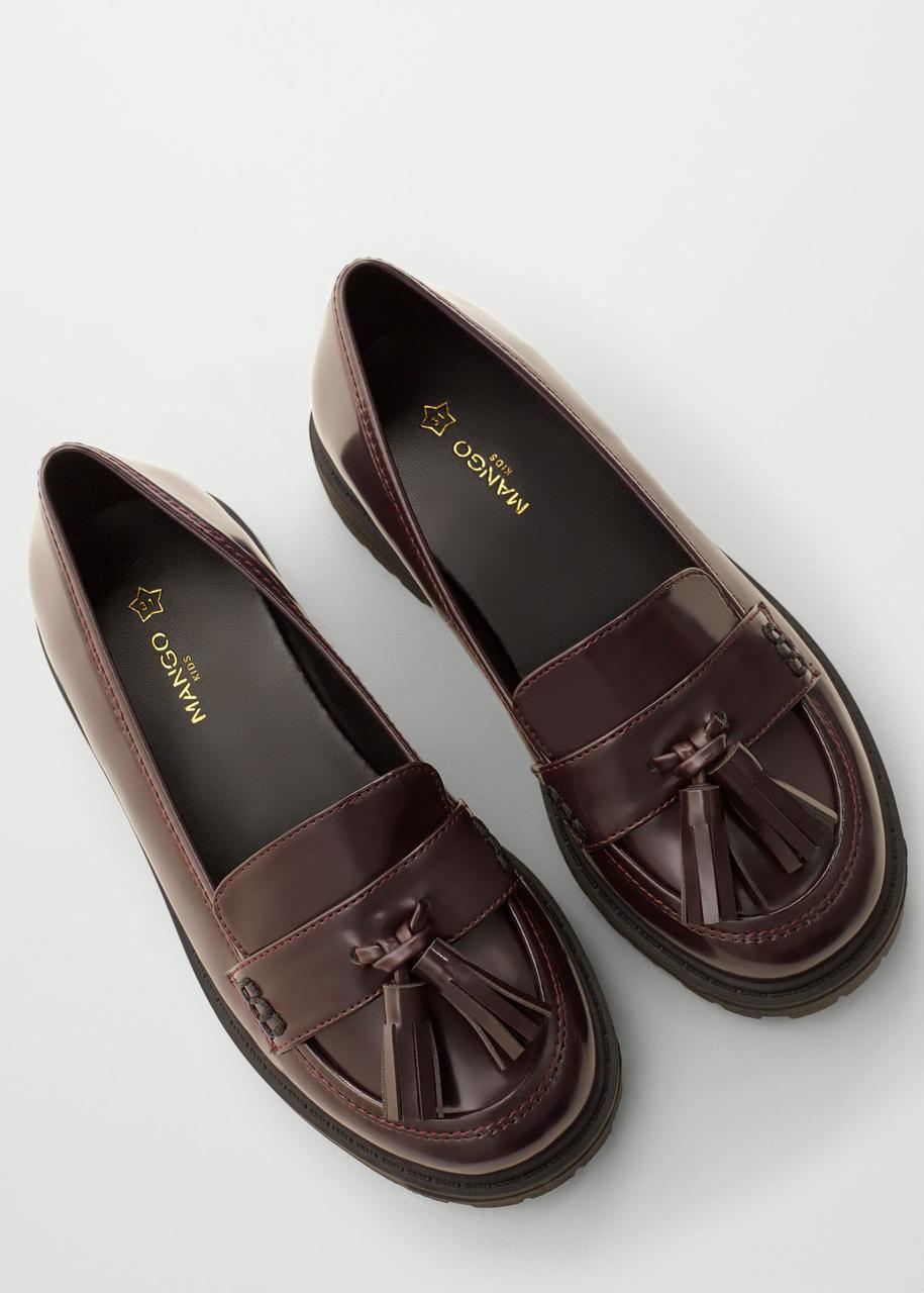 Туфли женские Mango размер 37 для девочек подростковые лоферы