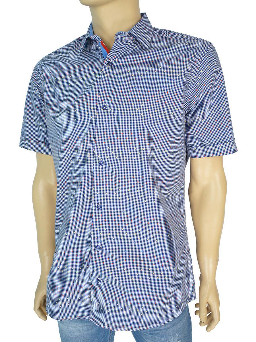 Стильна чоловіча сорочка Jack Polo 60/1 DAR 23004