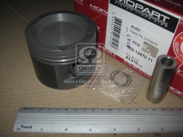 Поршень VAG 83.01 2.0 8V AAE/ABT (Mopart) 102-12870 11