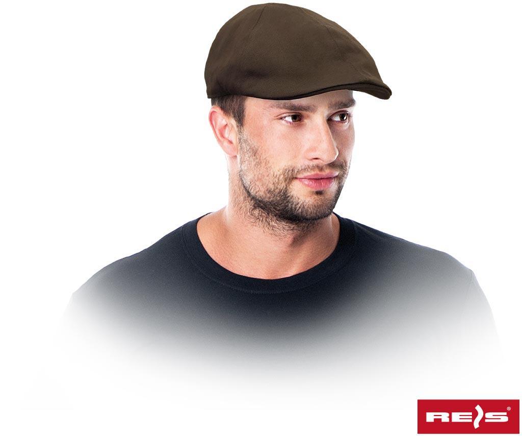 Кепка рабочая коричневая летняя REIS RAW POL Польша CZMUTZE BR