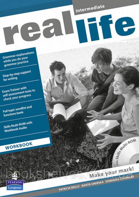 Real Life Intermediate WorkBook+CD-Rom