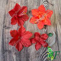 Головка Цветок с бусинами за 70 шт красный