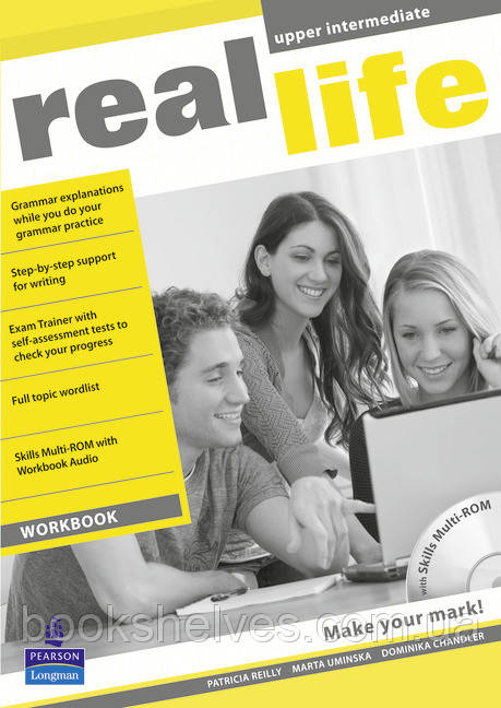 Real Life Upper-Intermediate WorkBook+CD-Rom