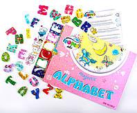 Магнитный Английский алфавит, Home-ABC