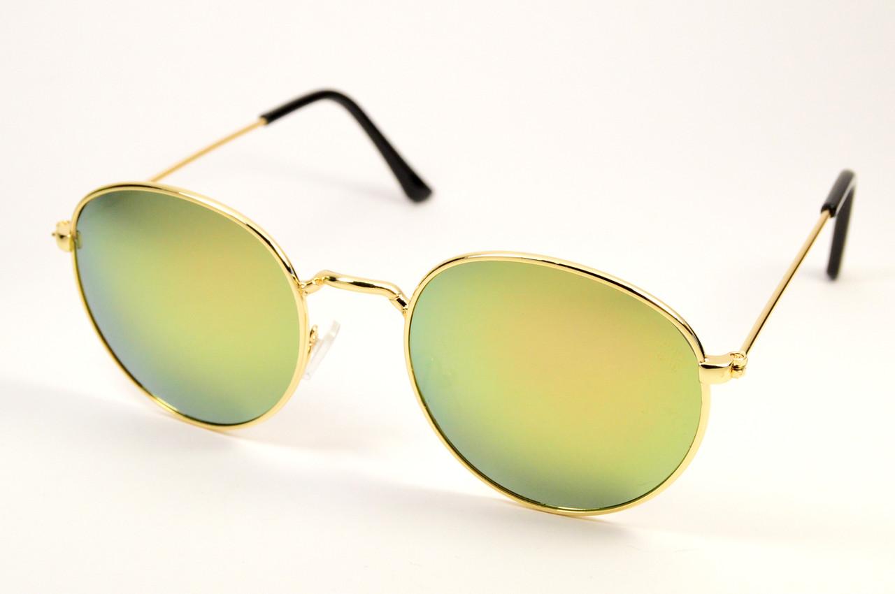 Солнцезащитные круглые детские очки (8404 роз)