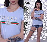 Футболка Gucci женская стильная разные цвета Sch236