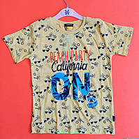 Детские футболки на мальчика качество Турция размер 9,10,11, лет