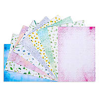 """Набор дизайнерского картона """"Цветочная коллекция"""""""