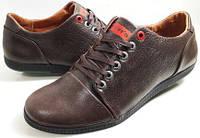 Мужские Осень-Весна Кожаные кроссовки туфли Levis model 901 Польша, фото 1