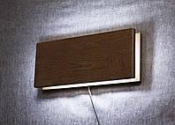 Светильник из дерева на стенку
