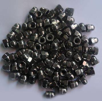 Гайка колпачковая М36 DIN 1587, ГОСТ 11860-85 из нержавеющей стали, фото 2