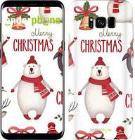 "Чехол на Samsung Galaxy S9 Merry Christmas ""4106c-1355-535"""