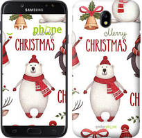 "Чехол на Samsung Galaxy J7 J730 (2017) Merry Christmas ""4106c-786-535"""