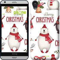 "Чохол на HTC Desire 530 Merry Christmas ""4106c-613-535"""