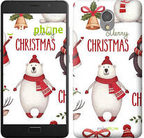 "Чехол на Lenovo Vibe P2 Merry Christmas ""4106c-792-535"""