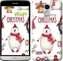 "Чехол на LG K8 2018 Merry Christmas ""4106u-1384-535"""