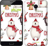 "Чохол на Meizu M3e Merry Christmas ""4106u-607-535"""