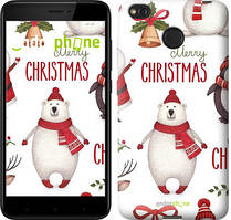"Чехол на Xiaomi Redmi 4X Merry Christmas ""4106c-778-535"""
