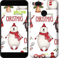"Чохол на Xiaomi Mi A1 Merry Christmas ""4106c-1132-535"""