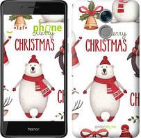 """Чехол на Huawei Honor 6C Merry Christmas """"4106u-1034-535"""""""