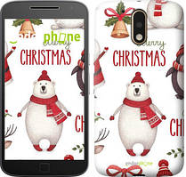 "Чохол на Motorola MOTO G4 Merry Christmas ""4106c-511-535"""