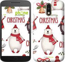 "Чохол на Motorola MOTO G4 PLUS Merry Christmas ""4106c-953-535"""
