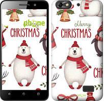 "Чехол на Asus ZenFone 4 Max ZC520KL Merry Christmas ""4106u-1242-535"""