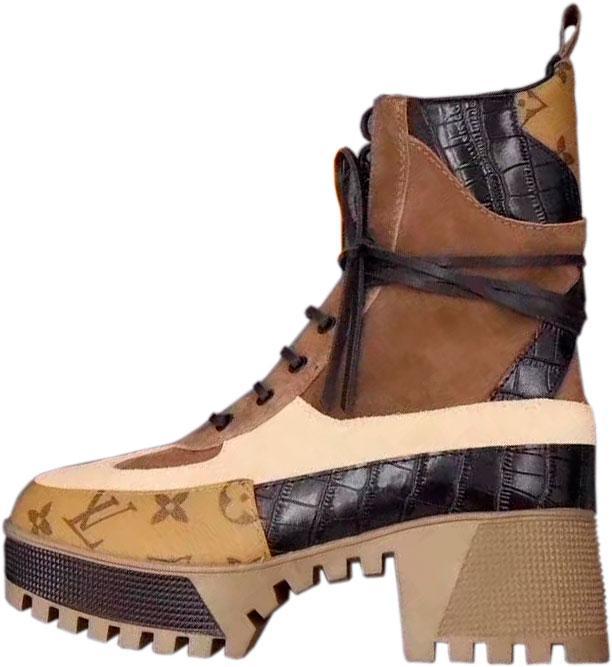Louis Vuitton ботинки на шнуровке, цена 4 417,04 грн., купить в ... f4880812bfb