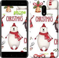 """Чехол на Nokia 6 Merry Christmas """"4106c-898-535"""""""