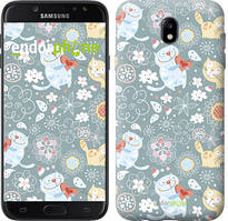 """Чехол на Samsung Galaxy J7 J730 (2017) Котята v3 """"1223c-786-535"""""""