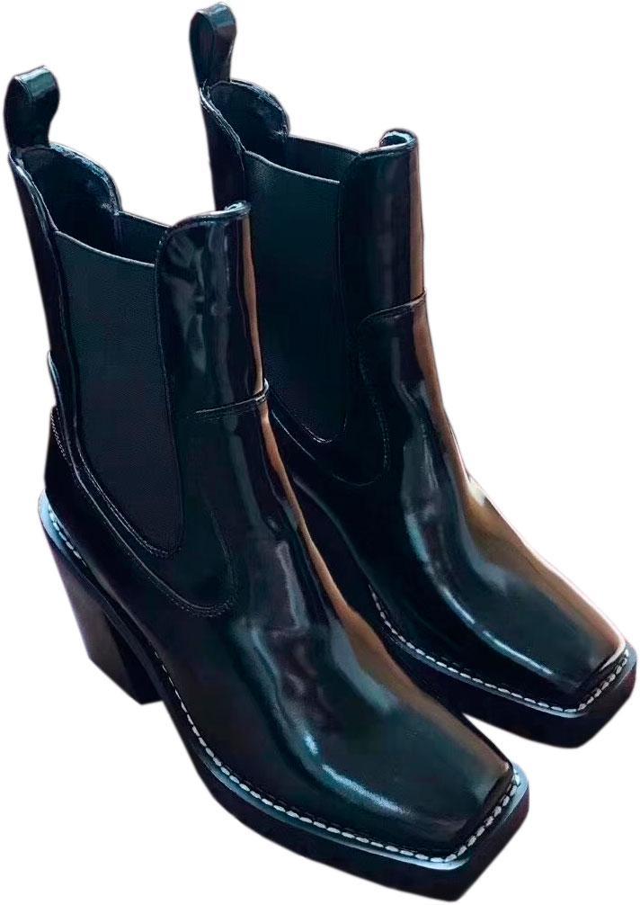 Louis Vuitton кожаные лакированные сапоги - Magazin-UA в Черкассах fbd956756eb