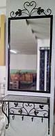 Комплект зеркало в кованой раме и консоль №5, фото 1