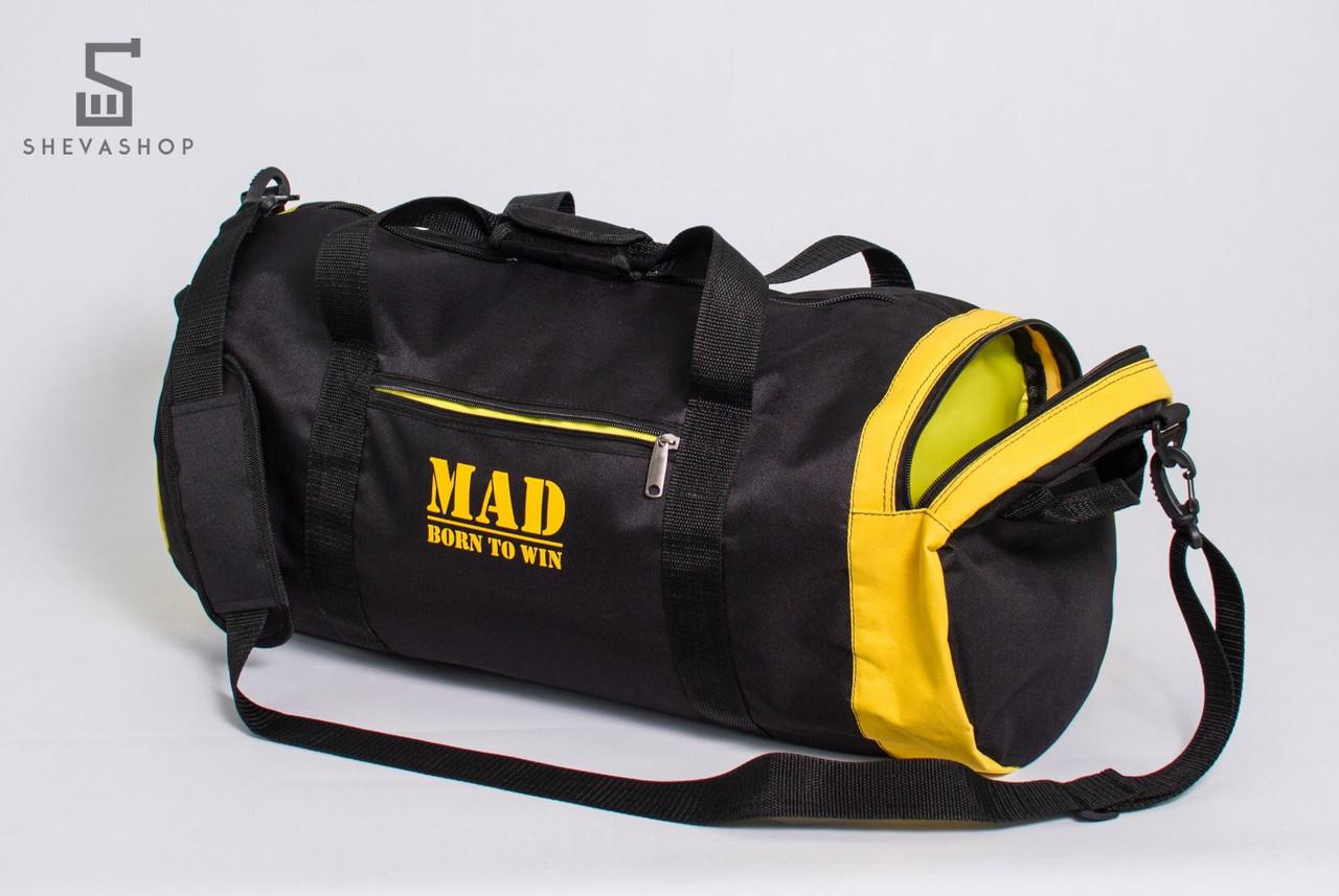c628bfdcedb6 Спортивная сумка-тубус MAD 40L чёрная - купить по лучшей цене в ...