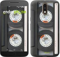 "Чохол на Motorola MOTO G4 Касета ""876c-511-535"""