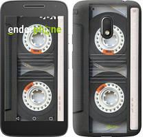 """Чехол на Motorola Moto G4 Play Кассета """"876c-860-535"""""""